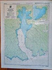Akaroa New Zealand Harbour map