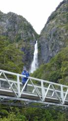 Bridge to Devils Punchbowl at Arthur's Pass