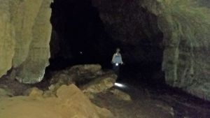 Box Canyon cave near Heaphy Track