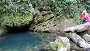 Source of the Riwaka Resurgence in Kahurangi National Park Abel Tasman