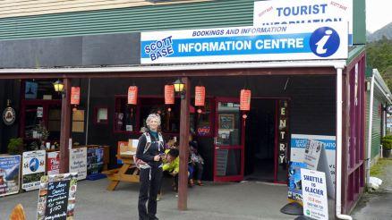 Information centre Franz Josef Glacier