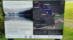 Sign - Walks around Lake Matheson