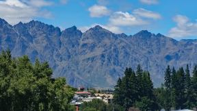 Mountain view of Queenstown New Zealand from Bespoke Kitchen