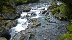 Cleddau River carving the rocks