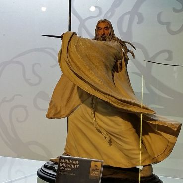 Saruman model at Weta Workshop