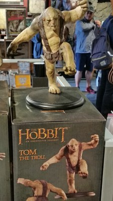 Tom Troll model at Weta Workshop