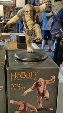 Tom Troll model at Weta Workshop