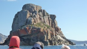 Granite island in Freycinet, as seen on Wineglass Bay Cruise