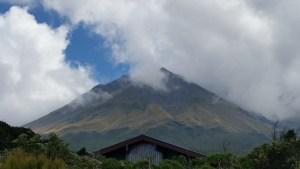 Mount Taranaki in New Plymouth NZ