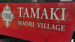 Tamaki Maori Village bus