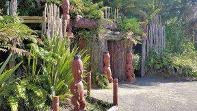 Tamaki Maori Village entrance