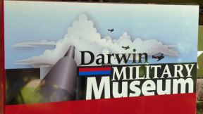 Entrance sign to Darwin Military Museum