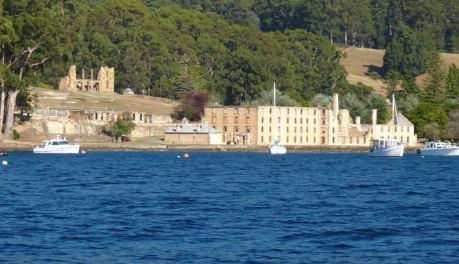 Tasman Island's Port Arthur's historic prison