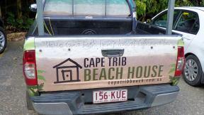Cape Trib Beach House truck