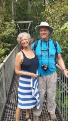 Mossman Gorge Rex Creek suspension bridge