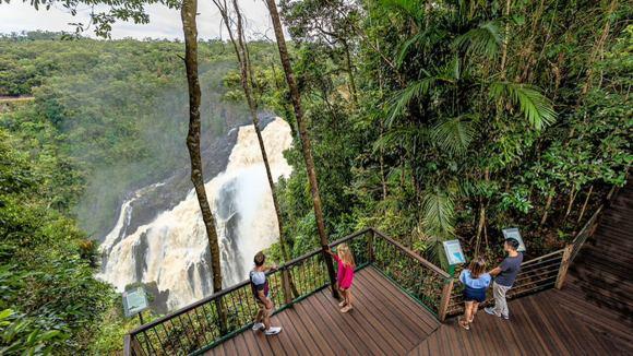 Overlook at Barron Falls