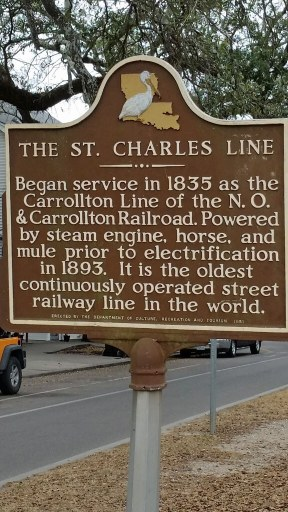 Brief history of the St Charles Trolley