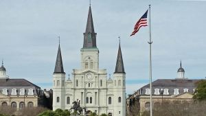 St. Louis Cathedral is one of New Orleans' most notable landmarks
