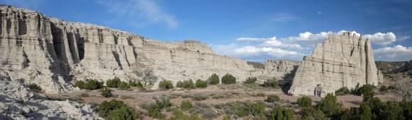 New Mexico Plaza Blanca panorama