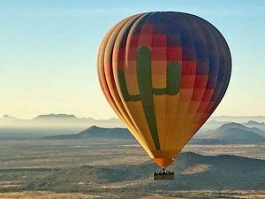 Hot Air Expeditions of Phoenix - our 18 passenger balloon