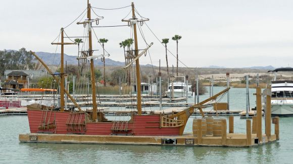 Lake Havasu Pirates Cove Resort ship playground