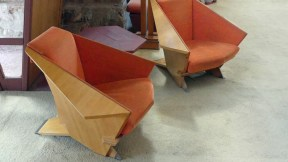 Taliesin West - Wing chairs