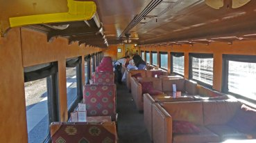 First Class seating Verde Canyon Railroad