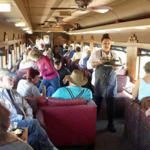 Verde Canyon Railroad - First Class passenger car