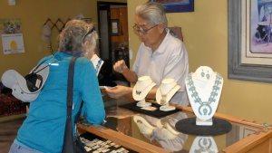 Zuni jewelry Eldrick Seoutewa favorite pueblo visit