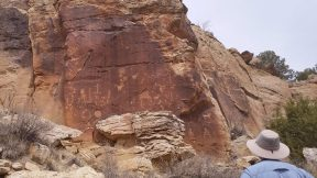Zuni Petroglyphs at Great Kivas