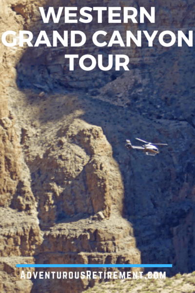 Helicopter tour of the Western Grand Canyon - Hualapai Reservation