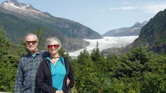Mendenhal Glacier near Juneau Alaska