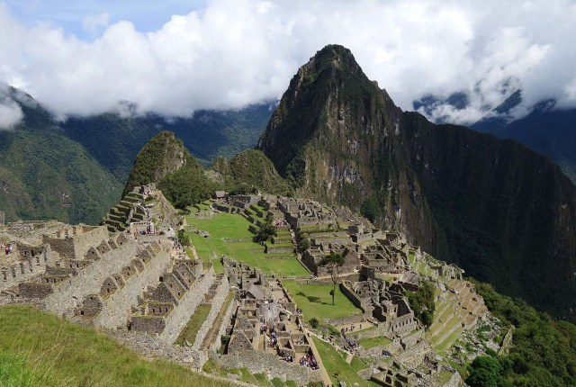 Machu Picchu by train