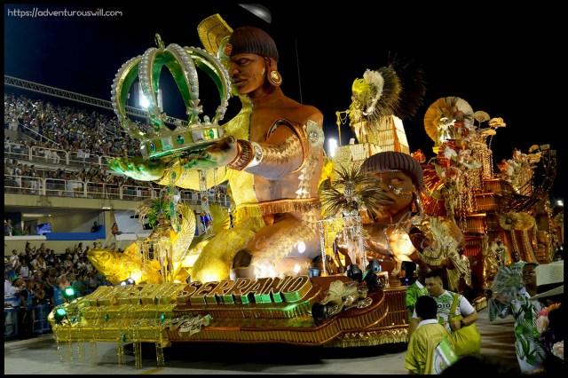 2017 Carnival in Rio de Janeiro