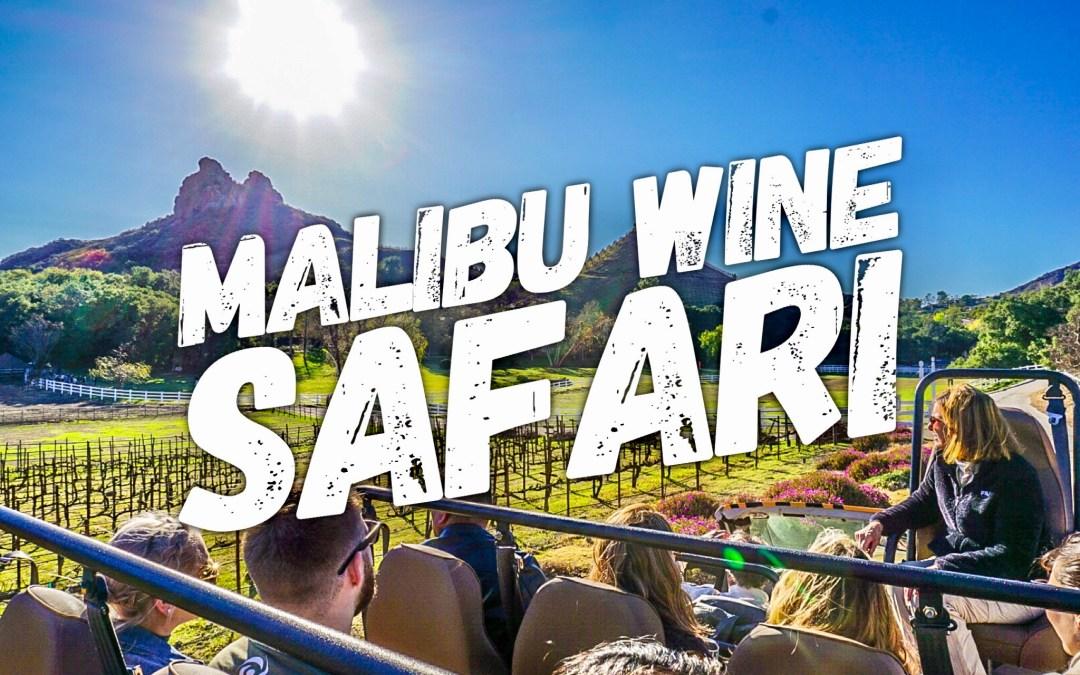 Sip, Sip, Hooray!  Malibu Wine Safari
