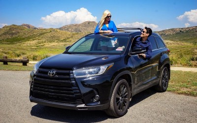 Enjoy the Ride:               Toyota Highlander