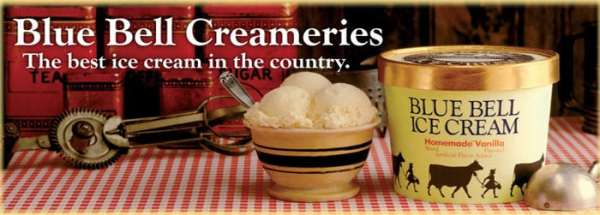 bluebell ice cream slogans