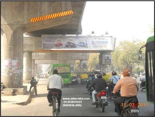 Uttam Nagar - Janak Puri Metro Panel Hoarding