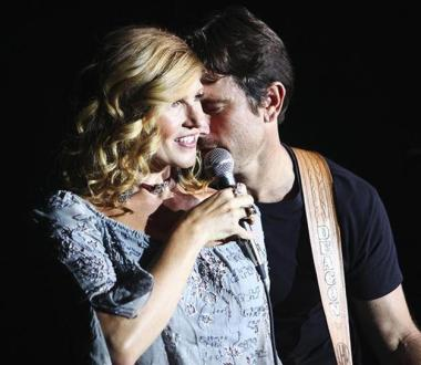 """NASHVILLE - """"That's Me Without You"""" - In the uniquely structured season premiere, a torn Rayna must choose not just between two men, but two directions that her life could take. Juliette, struggling to repair her relationship with Avery, auditions for the leading role of a film biopic. Meanwhile, Scarlett, determined to start fresh, embarks on a road trip home and bonds with an unexpected stowaway, and Will and Layla manage the fallout from his on-camera confession, on the Season Premiere of """"Nashville,"""" WEDNESDAY, SEPTEMBER 24 (10:00-11:00 p.m., ET) on the ABC Television Network. (ABC/Mark Levine) CONNIE BRITTON, CHARLES ESTEN"""