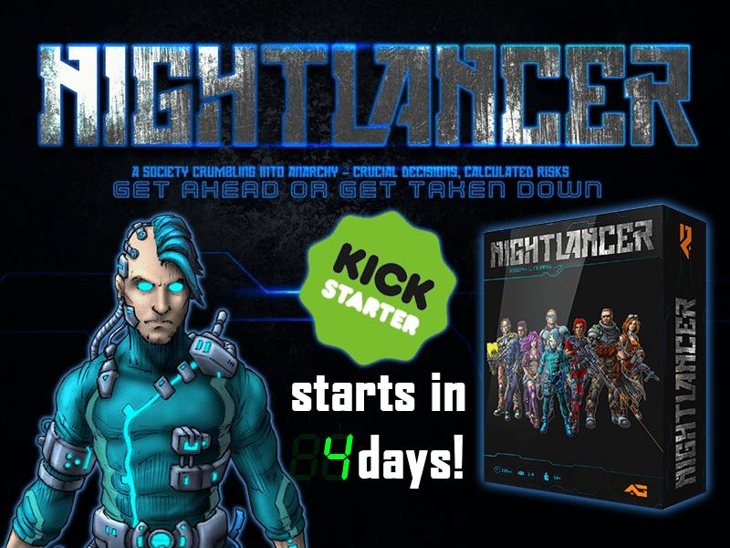 Nightlancer, cyberpunk, kickstarter, indie game, indie dev, hacking, cracking
