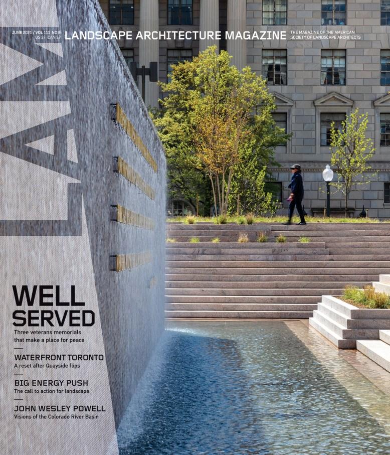 《景观建筑》杂志,2021年6月