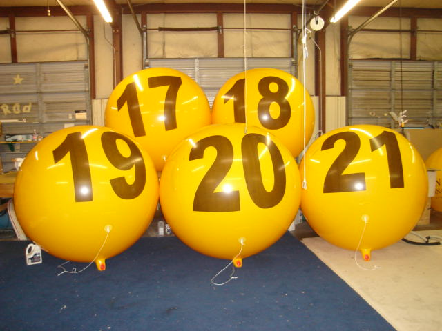 advertising balloons for sale in California
