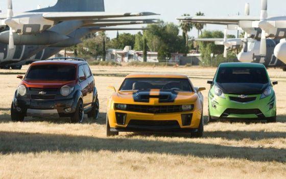 Chevrolet & Transformers