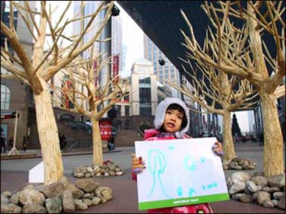 Greenpeace China - Chopstick Forest 6