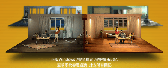 Microsoft China - Windows 7 Genuine Not the Same