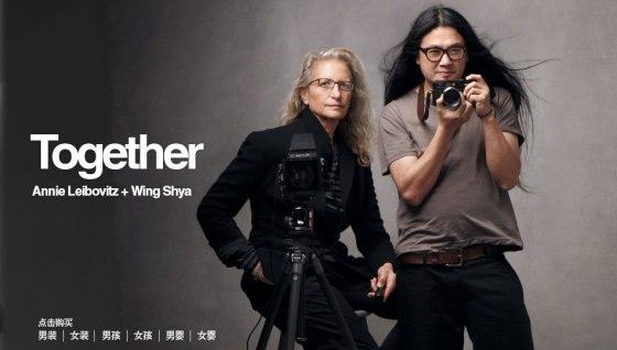 GAP China -- Annie Leibovitz and Wing Shiya