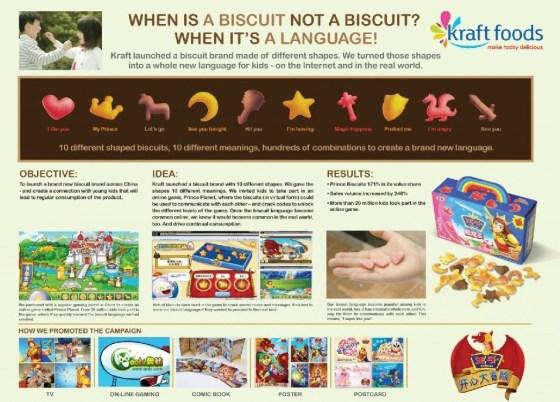 Kraft Foods - 2010 Prince's Happy Adventure