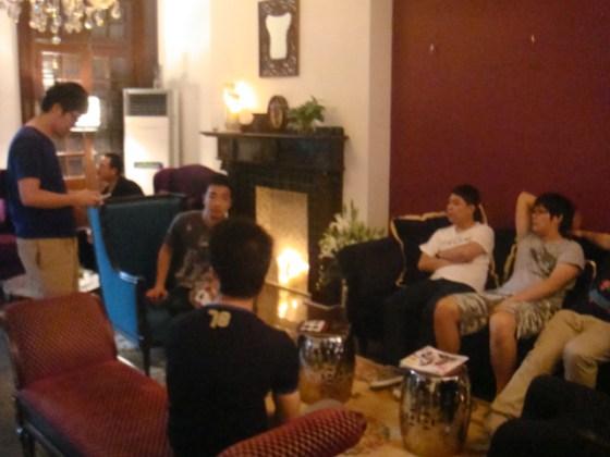 M&C Saatchi 'Idea Room'