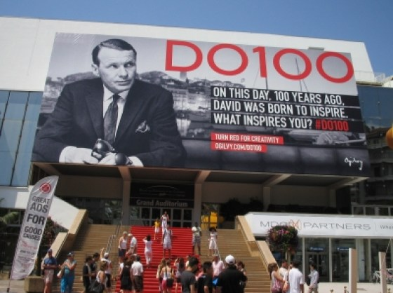 David Ogilvy's 100th Birthday was celebrated in Cannes