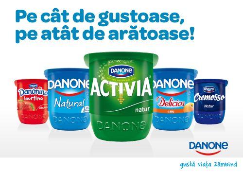 Danone reinventează paharul de iaurt după 16 de ani - Noul pahar KISS